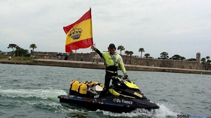 Álvaro de Marichalar, en aguas caribeñas.