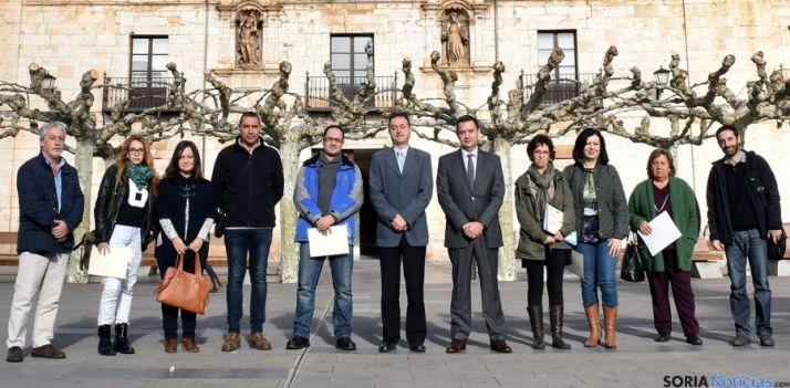 Particpantes en el curso Burgo Único./Jta.