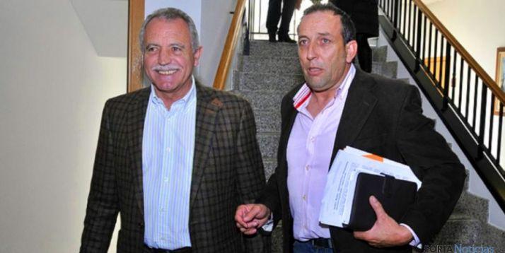 José Antonio de Miguel (izda.) y Raúl Lozano en una imagen de archivo. / SN