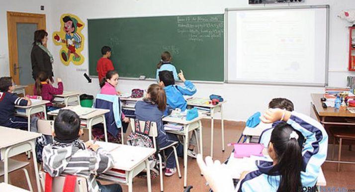 Una de las aulas del centro. / CSJ