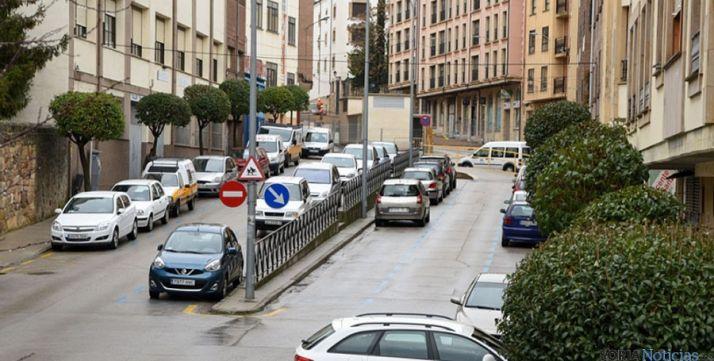 La calle Doctrina en una imagen de archivo./SN