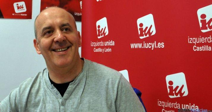 El concejal de Izquierda Unida, Enrique García. / SN