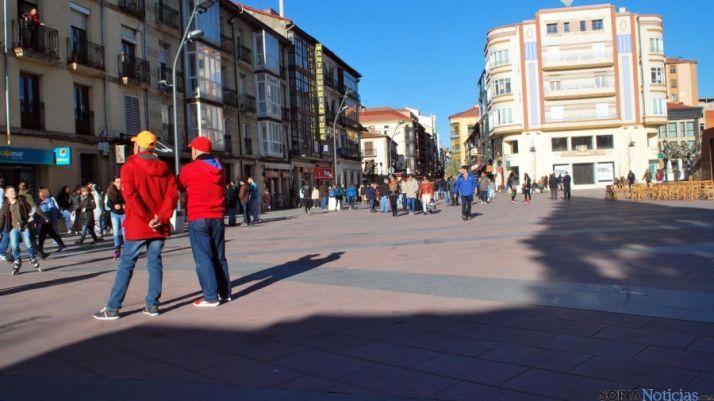 La plaza peatonal de Mariano Granados. / SN