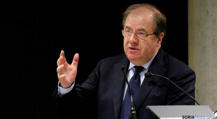 El presidente de la Junta, Juan Vicente Herrera.