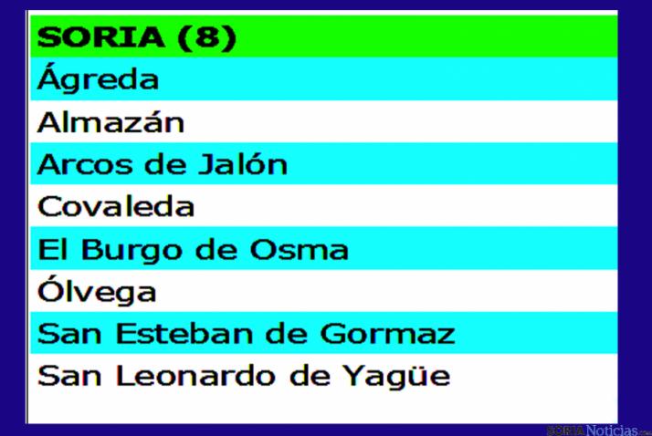Los municipios con el servicio./SN