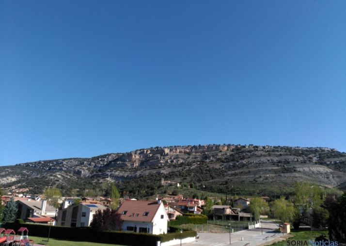 Cielo limpio en la provincia de Soria