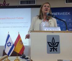 La consejera de Economía, en la  Cyberweek de Israel. /Junta