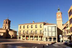 Plaza Mayor de Almazán