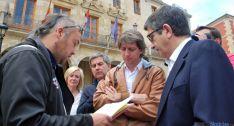 Aparicio (izda.), López y Martínez./SN