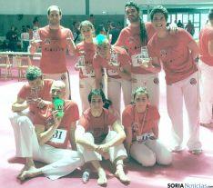 Atletas sorianos en la última edición.