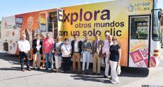 El Ciberbús en San Leonardo./Jta.