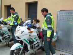 Imagen de las visitas al cuartel./Subdelg