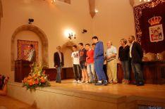 Imagen de la entrega de trofeos./Dip.