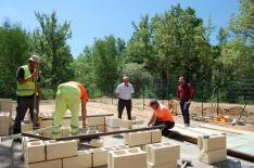 Obras en la depuradora de Sotillo del Rincón