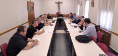 Encuentro de delegados y arciprestes./DOS
