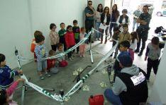 Niños en el cuartel sanleonardino./Subdelg