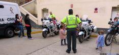 Niños de Virgen el Espino en una visita.