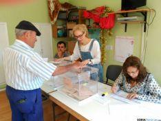Mesa electoral en Fuentetoba. SN