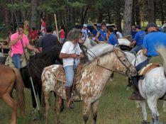 Caballistas en La Saca