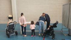 Cientos de sorianos han ido a votar hoy en familia. SN