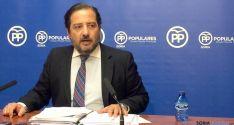 José Manuel Hernando, (PP) en rueda informativa.