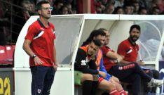 Moreno continúa en el segundo equipo./CDN