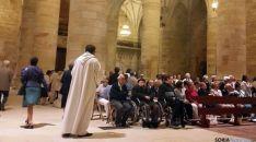 Imagen de la celebración en la concatedral./DOS