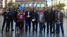 La campaña del PP en Ágreda.