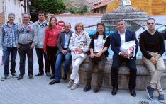 Los candidatos socialistas en Berlanga.
