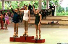 Uno de los podios para el club soriano./CPS