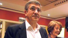 López, en su última visita a Soria./SN