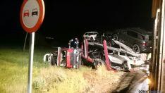 El accidente ha sido llamativo, pero sin daños personales