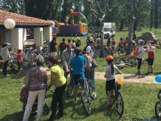 Fiesta de la bicicleta en Valonsadero