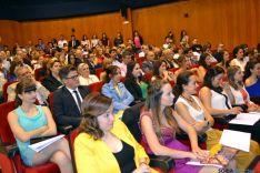 Graduación de la tercera promoción del Grado de Enfermería de Soria