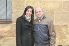 José Luis Ríos y Tania Pérez