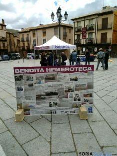 La 'Bendita Hemeroteca', en Berlanga