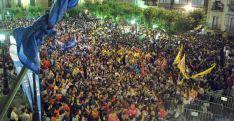 Imagen de la multitudinaria asistencia al Pregón de Fiestas. / SN