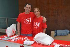 Mesa informativa del PSOE en Mariano Granados. /PSOE