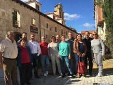 Representantes del PSOE en San Esteban