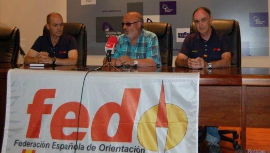 Presentación Orientación en Diputación de Soria.