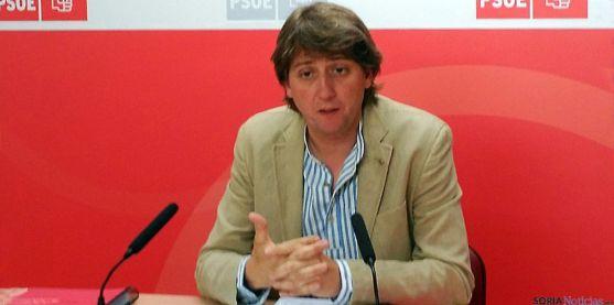 Carlos Martínez Mínguez, este martes en rueda informativa.