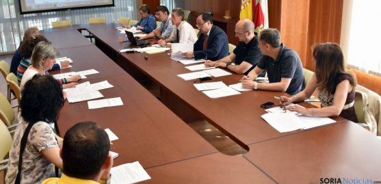 Reunión de la Comisión Provincial de Montes este miércoles. / Jta.
