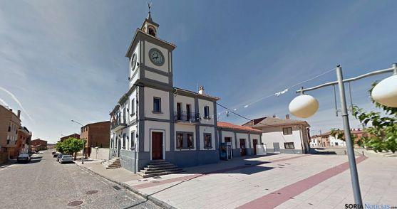 El edificio consistorial de Quintana Redonda. / G