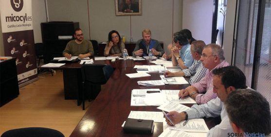 Imagen del comité ejecutivo de la UGAM.