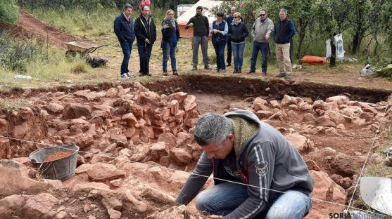 Imagen de las excavaciones este jueves. / Jta.