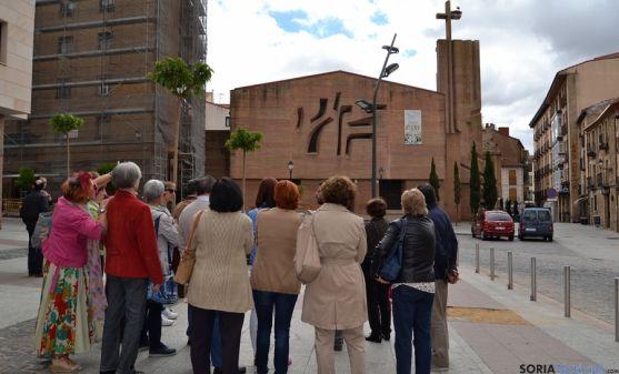 Iglesia de El Salvador, un referente de la arquitectura del XX en Soria
