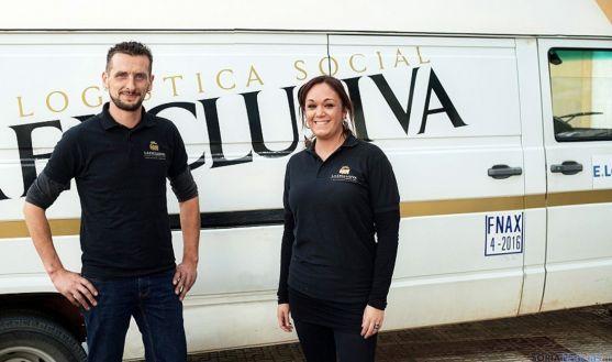 Vicky Tortosa y Hugo Núñez, responsables de La Exclusiva. / SN