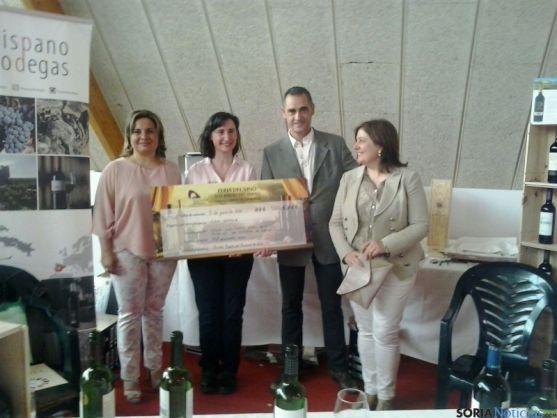 Entrega del premio a Viña Gormaz