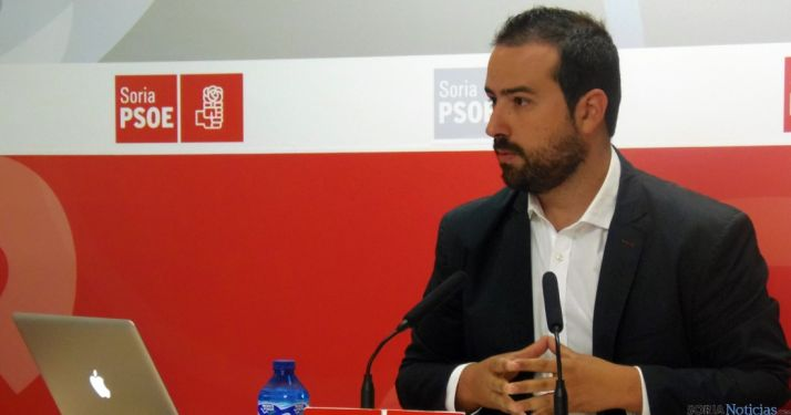 Ángel Hernández, procurador del PSOE soriano.