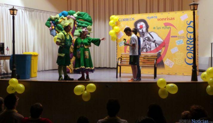 La actuación en el colegio soriano.
